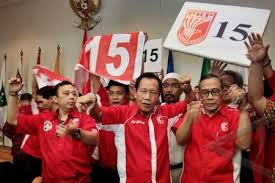 Lolos Pemilu 2014, Bang Yos beserta pendukung PKPI sambut gembira/ antara photo