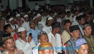 Ratusan Umat Muslim Hadiri Peringatan Maulid Nabi di BPU Bitung