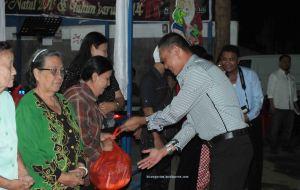 Puluhan janda dan anak yatim terima diakonia dari Forsa Warkop
