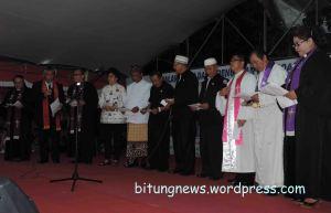 Renungan dan Doa FKUB untuk Pemilu 2014