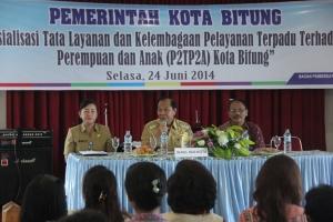 Rapat layanan dan kelembagaan