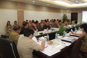 Rapat Evaluasi Ranperda APBD