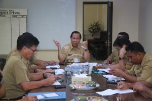 Lomban Mantapkan Persiapan Hari Lansia se-Indonesia