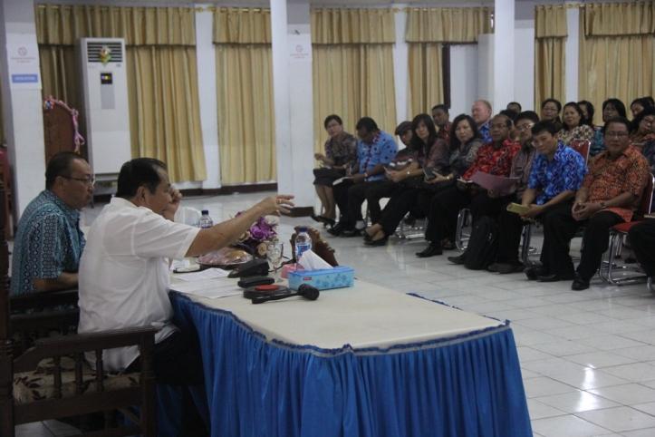 Lomban, tatap muka dengan semua guru - guru yang ada di Kota Bitung