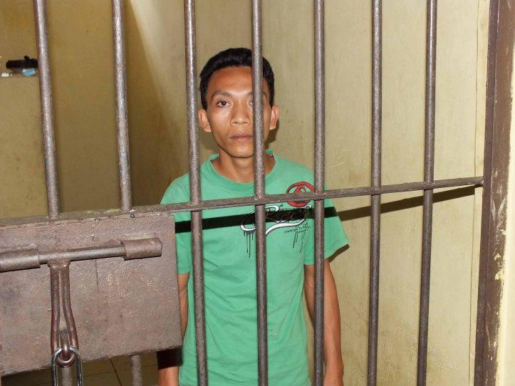 Pelaku pembobolan Mesin ATM  dimasukkan kedalam sel tahanan