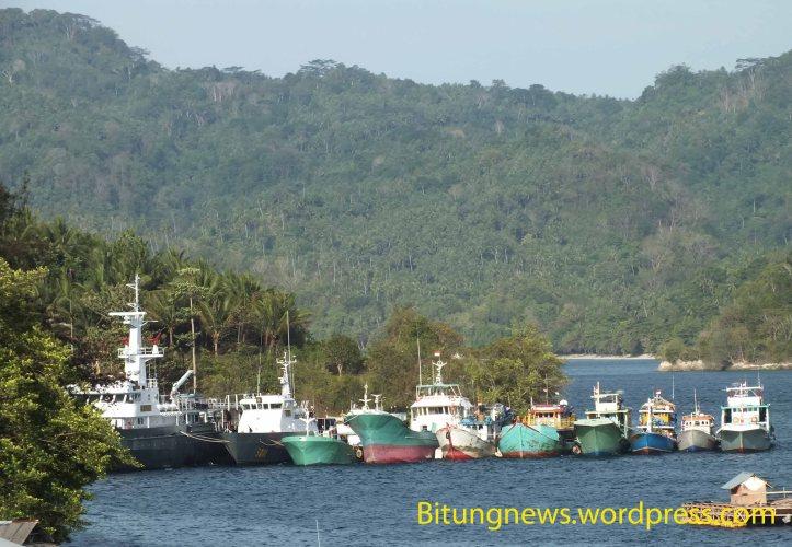delapan kapal ikan yang ditahan