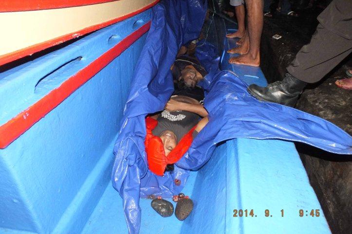 2 orang ABK KLM Dwi Sejahtera yang meninggal