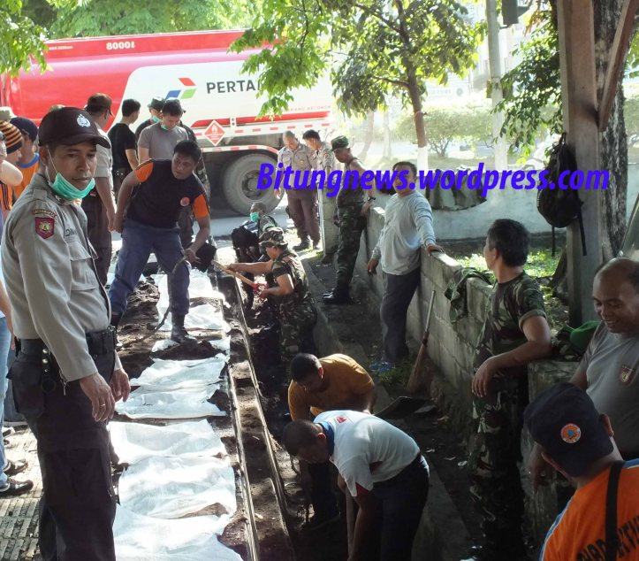 Damainya TNI dan Polri Kota Bitung
