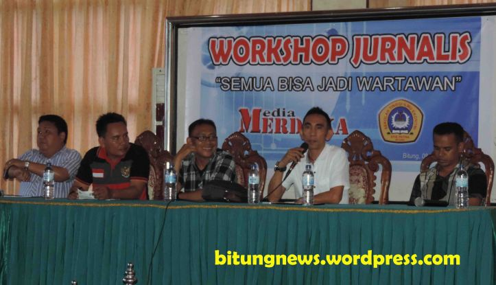 Pemateri Diskusi Workshop Jurnalis Sampaikan Kesiapan KEK, Kenaikan UMP dan Kenaikan BBM