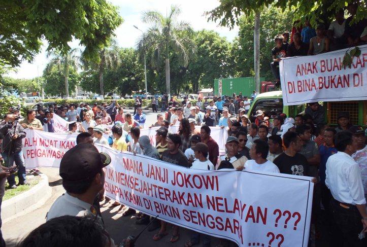 Demo dilanjutkan kekantor walikota