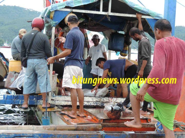 Nelayan tuna tiba di Pelabuhan Perikanan Bitung