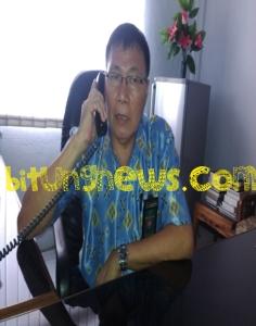Panitera Sekretaris PN Bitung, Rafly Batubuaja