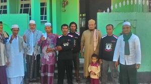 Brigade Manguni Indonesia jaga Shalat Ied di Masjid Kelurahan Girian Weru