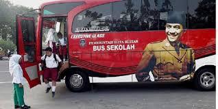 Bus Sekolah Kota Blitar/ foto: kompas.com/edukasi
