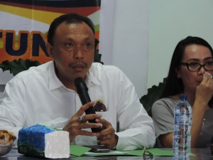 Wakil Ketua DPW Partai Nasdem Sahrul Poli
