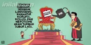 Karikatur Politik Dinasti/ source: inilah.com