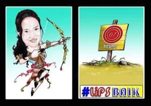 Linna Utiarachman/ Karikatur: Firman Ariesandy