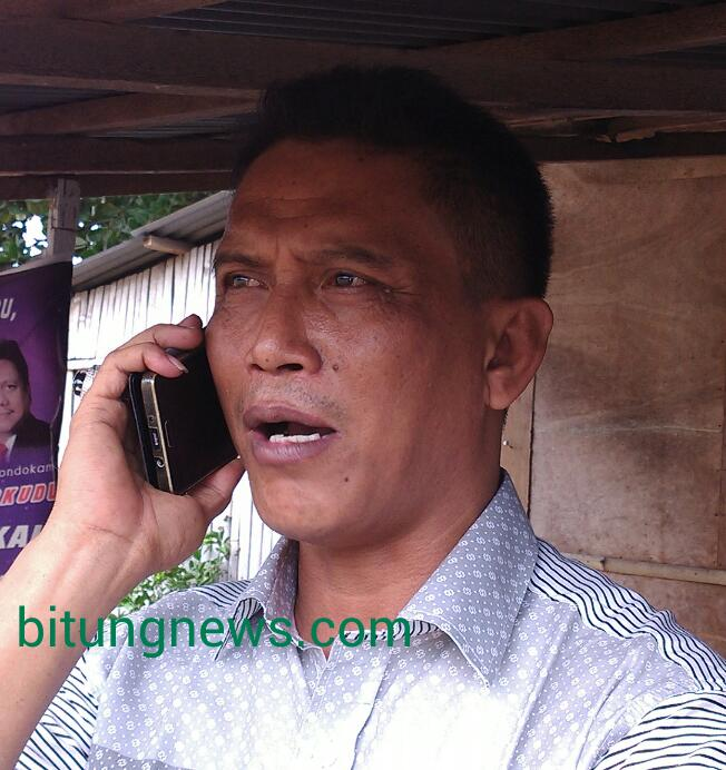 Ketua PC GP-Ansor Kota Bitung, Ridwan Sambayang