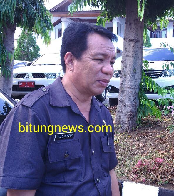 Sekretaris DPRD Bitung, Youke Senduk