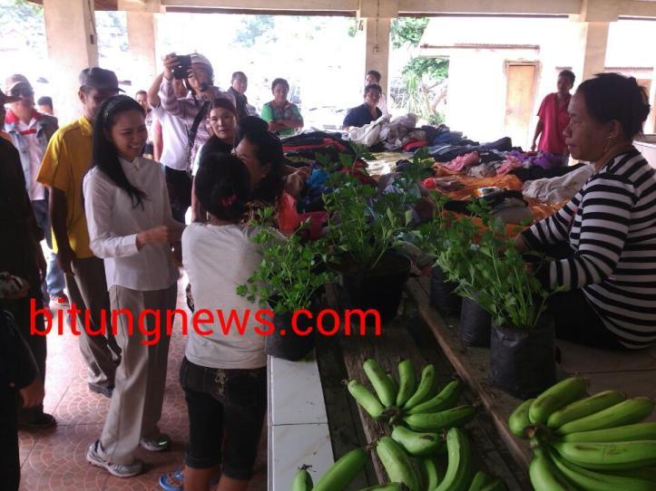 ABP-SGL berdialog dengan pedagang Pasar Papusungan