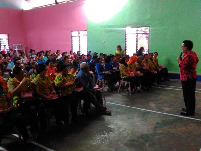 Tonaas BMI Kota Bitung, Fabian Kaloh, Sosialisasi Kamtibmas