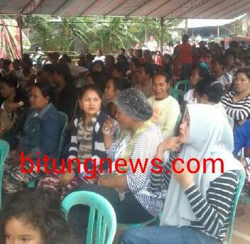 Pendukung dan simpatisan PAKAR hadiri pelantikan tim relawan