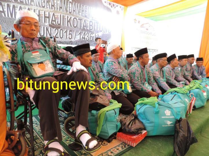Jamaah Calon Haji Bitung berangkat menuju tanah suci