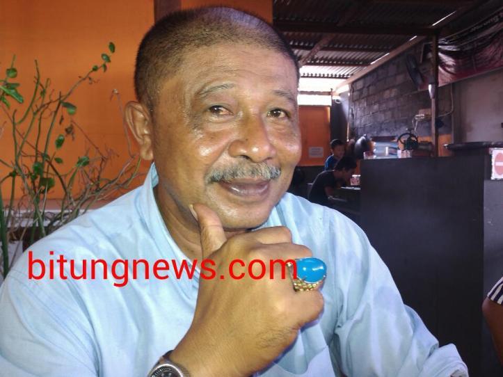 Anggota DPRD Bitung, Victor Tatanude