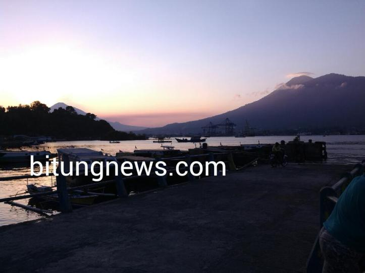 Sunset at Lembeh Island