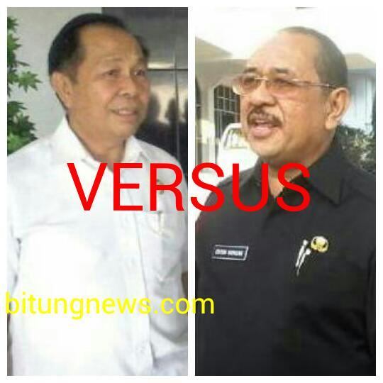 Wakil Walikota Bitung Max Lomban dan Sekda Edison Humiang