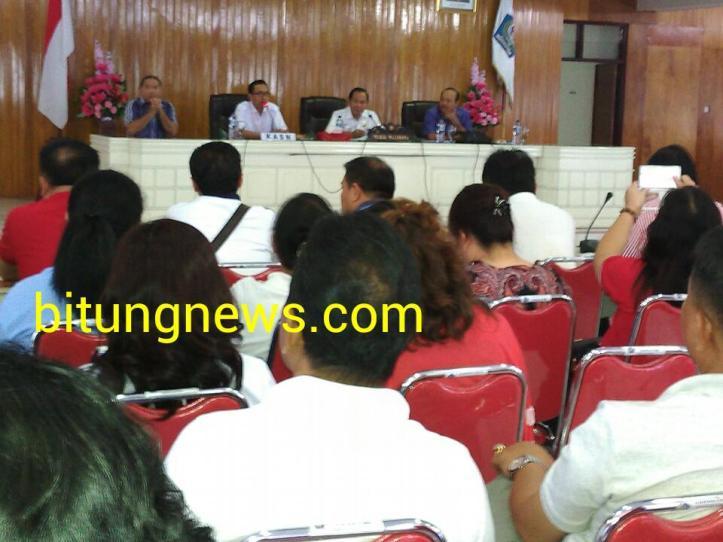 KASN Sosialisasi Aturan di Lantai IV Kantor Walikota Bitung