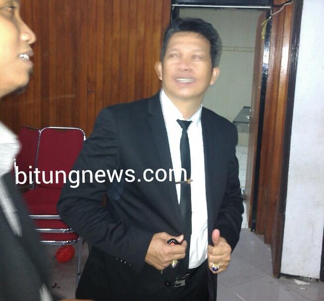 Ketua KPU Bitung, Sammy Rumamby