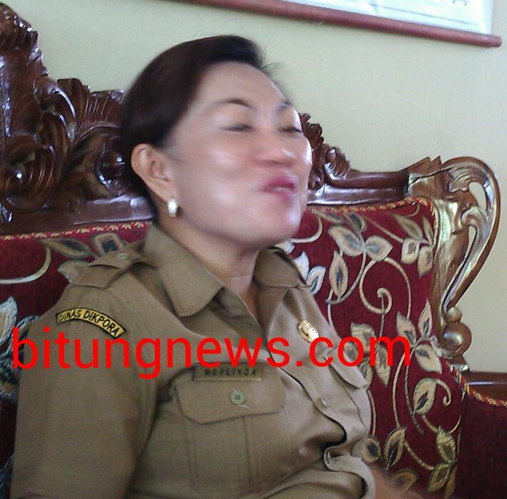 Kepala Sekolah SDN Inpres 10, Meylinda Salindeho