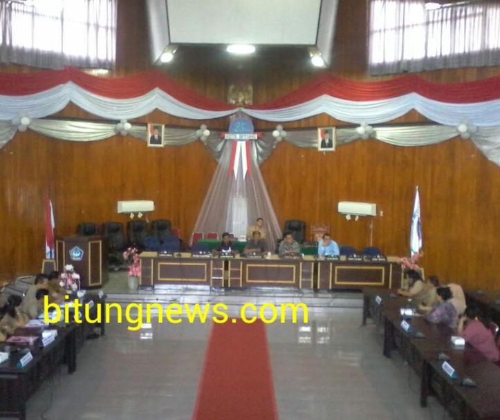 Suasana Rapat dengar pendapat Komisi A DPRD, guru mogok karena honor tak terbayar 5-3 bulan