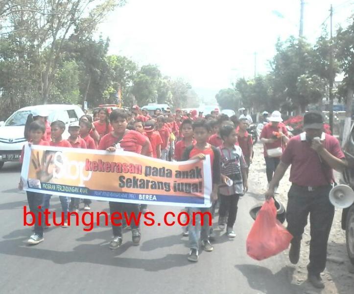 PPA Berea Kampanye Stop Kekerasan Terhadap Anak