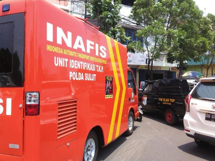 Tim INAFIS Polda Sulut Periksa TKP Pencurian Emas 5 KG di Toko Cahaya Emas Bitung