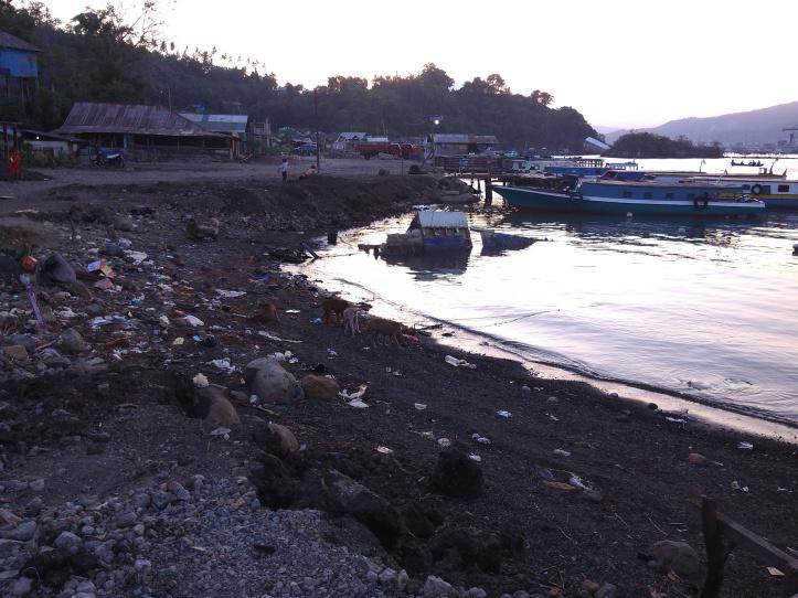 Reklamasi Pantai di Kelurahan Papusungan Pulau Lembeh dapat menyebabkan abrasi jika tanpa kajian lingkungan