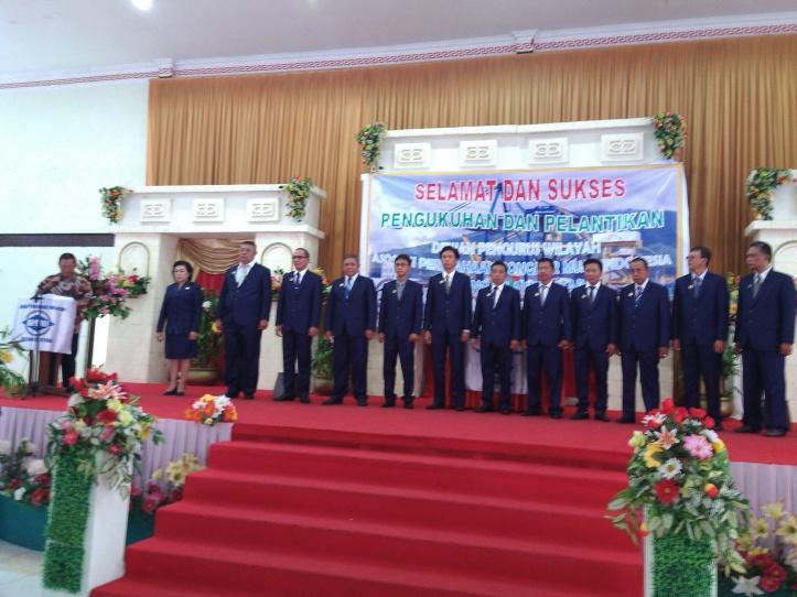 Ketua DPP APBMI, Shodiq Harjono, Melantik Kepengurusan DPW APBMI Sulawesi Utara