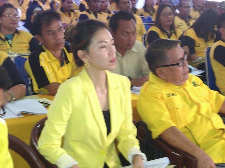 Ketua terpilih DPD II Partai Golkar Kota Bitung, Pricylia Cindy Wurangian