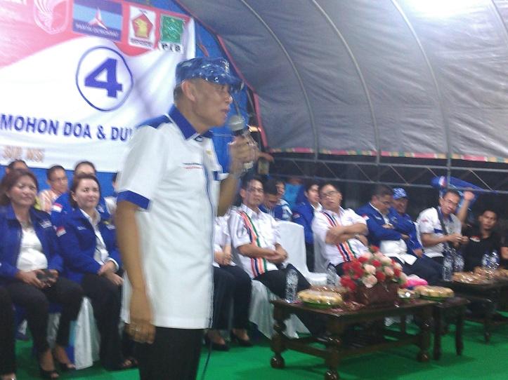 Ketua DPP Partai Demokrat, Jenderal (Purn) Pramono Edy Wibowo