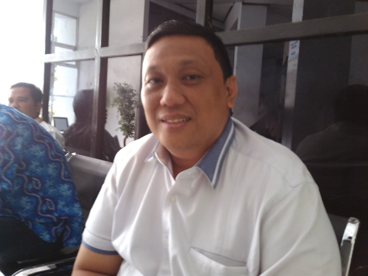 Wakil Ketua DPRD Gorontalo, Feriyanto Mayulu, di kantor DPRD Bitung, Kamis 19/11/2015