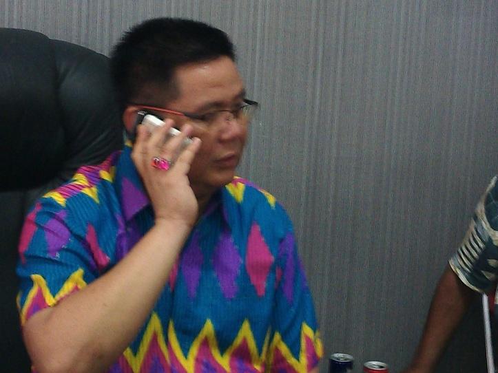 Ketua DPRD Bitung, Laurensius Supit, Sesalkan fitnah terhadap dirinya
