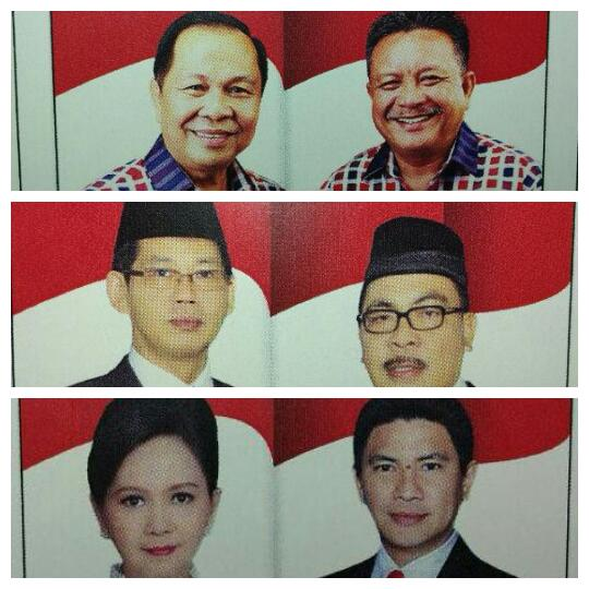 Tiga kandidat Walikota dan Wakil Walikota Bitung 2016-2021, berpeluang klaim kemenangan.