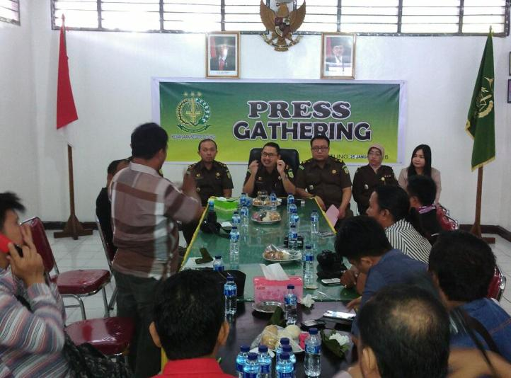 Press Gathering Kejari Bitung