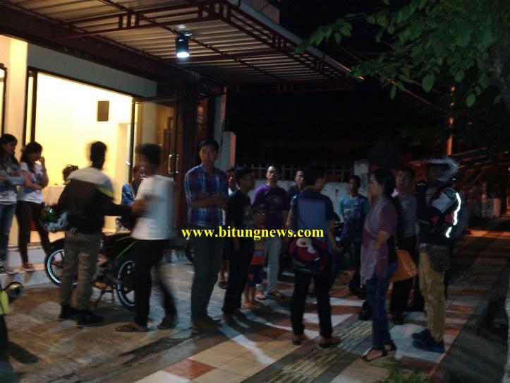 Motor baru hilang di halaman Gereja Mawar Sharon, Kelurahan Pakadoodan, Kecamatan Maesa, Kota Bitung