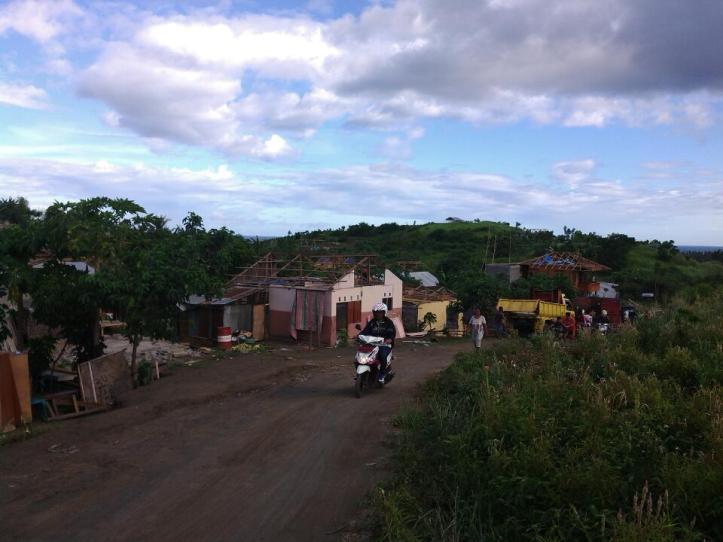kondisi terakhir lahan Masata, pasca pembongkaran pemukiman warga