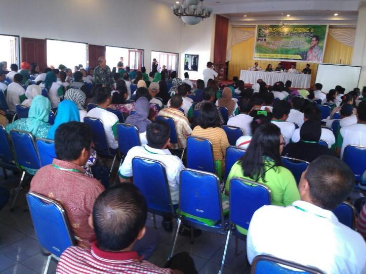 Suasana Muscab III PKB Kota Bitung, di Wisma Pelaut International, Kamis, 11/2/2016