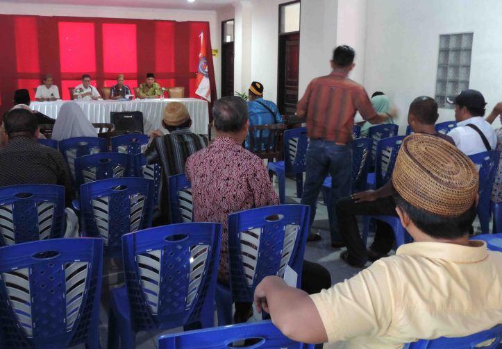 Rapat Pleno Muscab KKIG, membahas Tata Tertib Pemilihan Pengurus, di Wisma Pelaut International, Sabtu, 28/5/2016