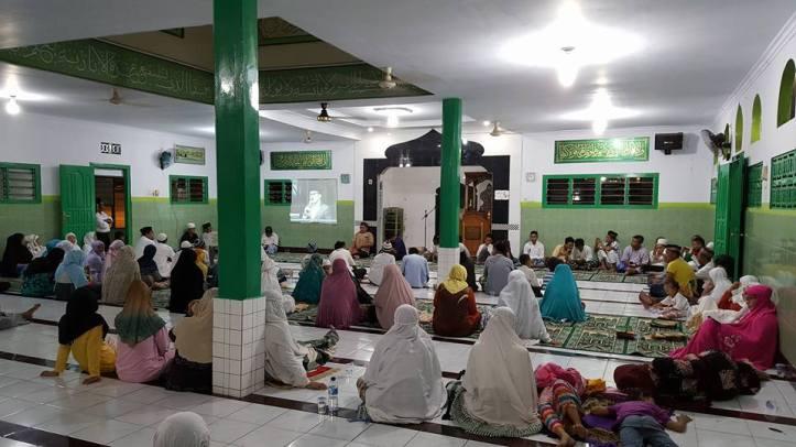 Program Nusantara Mengaji di Kota Bitung tersebar di 8 Kecamatan, bertempat di Masjid dan rumah warga.