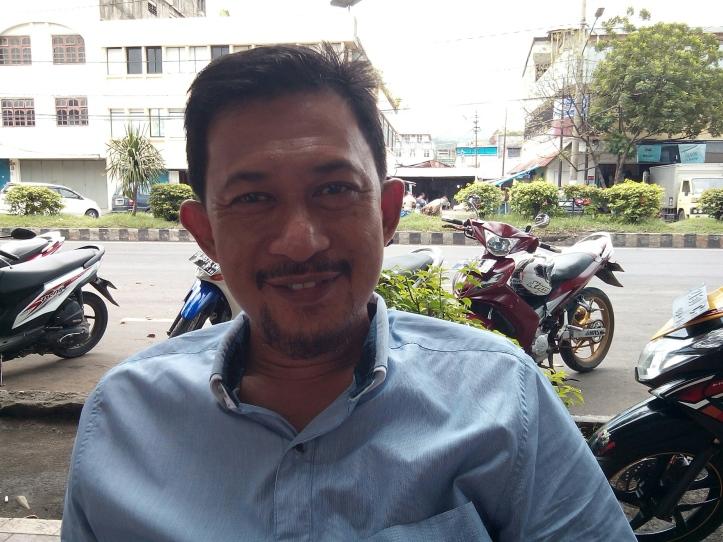 Ketua Panitia Musda IV PAN, Gunawan Pontoh, SE
